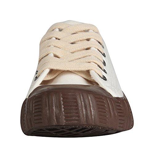 Toile Sneaker Femme Kentti Semelle en Caoutchouc avec épaisse Baskets en Rtxw4F