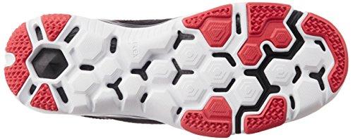 Nuovo Flex Supreme Tr 3 Cross Trainer grigio / rosso audace 8, Dark Grey/Black/Daring Red, 41