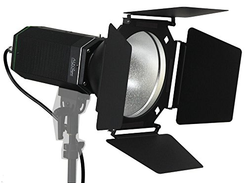 ALZO 3000 High Intensity LED Video and Photo Light with Barndoor by ALZO Digital