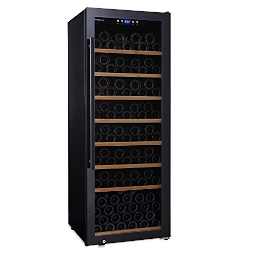 Bordeaux Half Bottle - Wine Enthusiast Classic L-150 Wine Cellar - Holds 150 standard Bordeaux bottles
