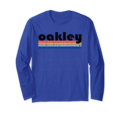 Vintage 80s Style Oakley  CA Long Sleeve T-Shirt for sale  Delivered anywhere in USA