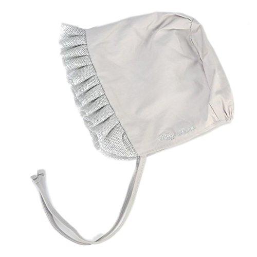 Pink Lace Hat - wintefei Lovely Lace Rim Infant Baby Girl Hat Straps Tie Cotton Cap Headwear Warm Keeper - Pink