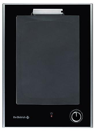 De Dietrich DTE728 X 2500W placa teppanyaki - Placas teppanyaki (Negro, Sensor, Electrónico, Digital, 2500 W, 340 mm): Amazon.es: Hogar