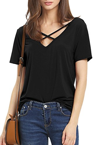 yming-summer-cross-front-tops-deep-v-neck-casual-teen-girls-tees-t-shirts
