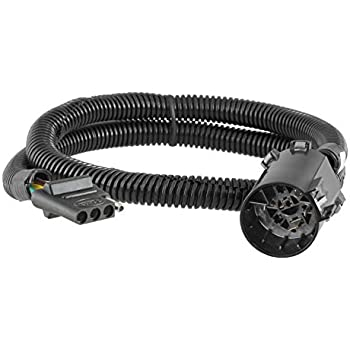 curt 55515 custom uscar vehicle trailer wiring harness for towing