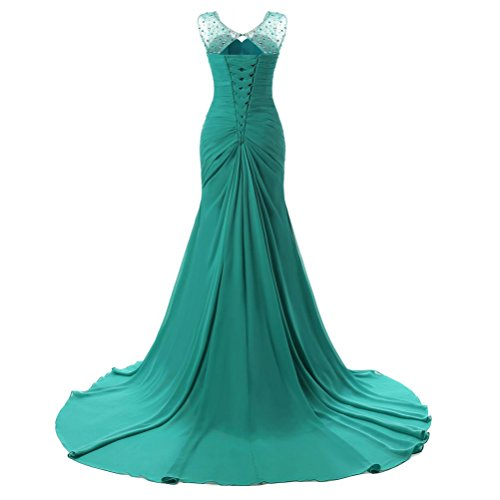 Zalin Womens Elegant Noble Hollow Back Maxi Formal Maxi Evening Dresses Sleeveless Chiffon Bridesmaid Dresses More Color at Amazon Womens Clothing store: