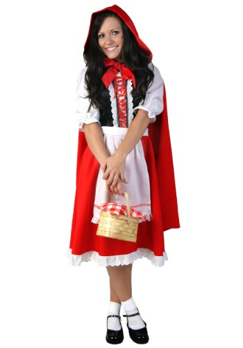 Plus Size Little Red Riding Hood (Halloween Costumes Little Red Riding Hood Plus Size)