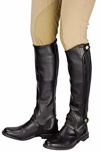 TuffRider Grippy Grain Half Chap Tall XS (High Rider Tall Boot)