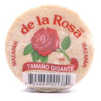 De La Rosa Marzipan Peanut Candy Extra Large (Gigante), 18 Packs