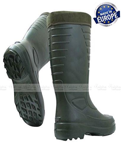 100 Grün Thermo arktisch Stiefel wasserdicht Rovex Angler SqRF66