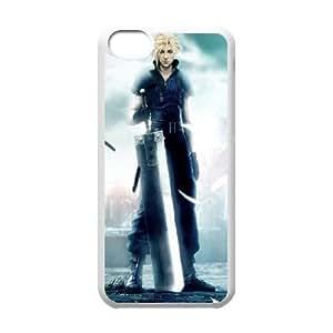Caso durable caso del iPhone 5C Teléfono Funda final Blanca Fantasía Boy F1B4PP único Funda