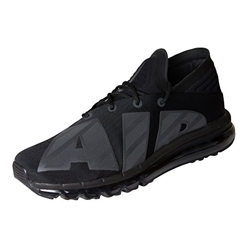 NIKE Mens Air Max Flair Running Shoes Black/Anthracite-black 1OULE