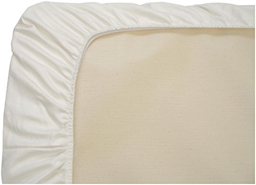 Naturepedic Organic Cotton Stokke Fitted Crib Sheet- White