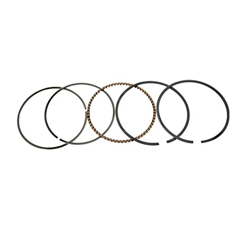 (GOOFIT Piston Rings Set Assembly for GY6 150cc ATV Dirt Bike Go Kart Moped Scooter Engine Part)