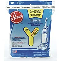 4 X Disposable Allergen Filtration Bags For Commercial WindTunnel Vacuum, 3/Pack