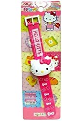 Sanrio Hello Kitty Die Cut Kids Digital Wrist Watch Wristwatch Gift Japan