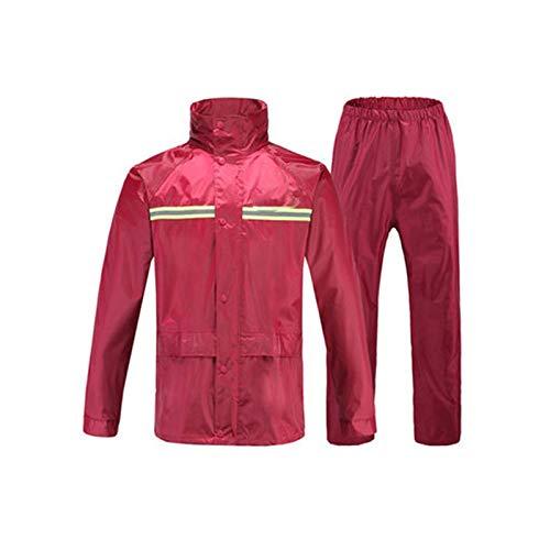 Crimson XXXL XAOPN Imperméables De Différentes Tailles, Costumes, Hommes Et Femmes, Imperméables Extérieurs, Vestes De Pluie Légères