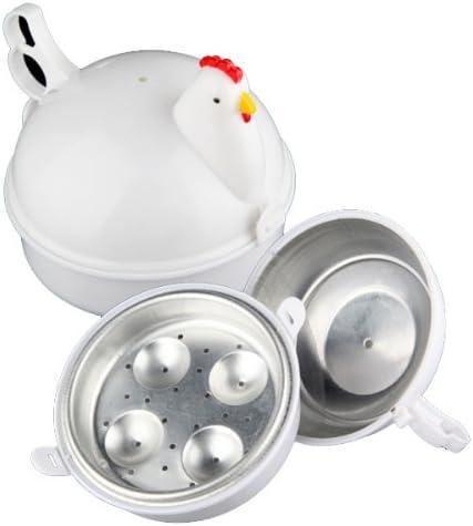 Recipiente para cocción de huevos en horno microondas, de gallina ...