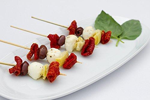 Antipasto Kabob with Fresh Mozzarella - Gourmet Frozen Appetizers (Set of 4 Trays)