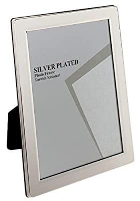 Viceni Plated Flat Edge Photo Frame