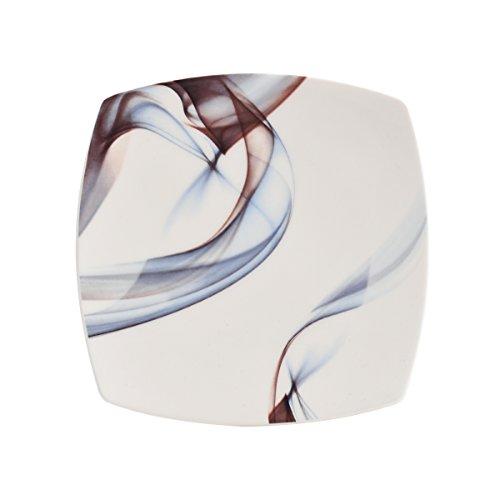 Mikasa Kya Square Salad Plate, 8-Inch (Coupe Square China Plate)