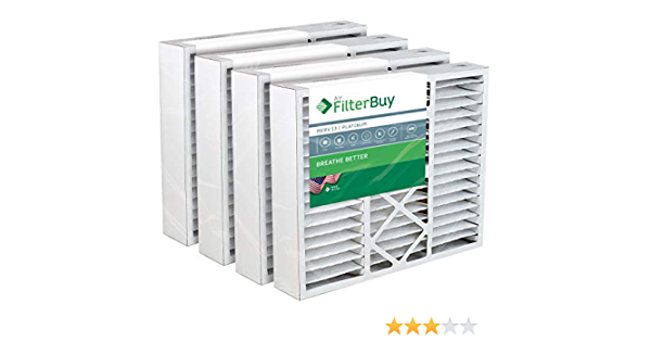 MERV 13 Aftermarket unbranded Replacement Filter 20.25x20.75x5.25 2 Pack 20x20x5
