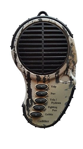 Gobbler Spring - Cass Creek - Ergo Call - Spring Gobbler - CC041 - Handheld Electronic Game Call - Turkey Call by Cass Creek