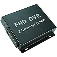 2 Channel 1080P Fleet DVR, for Taxi,Bus,Truck,Mini Van Used, FHD Mobile DVR 2 Cameras Recording