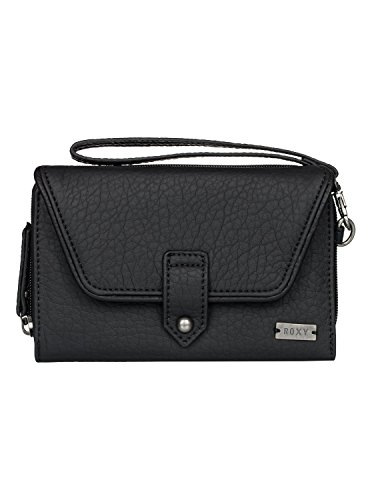 Roxy Womens Roxy Lisboa Secret - Checkbook Wallet - Women - One Size - Black True Black One Size (Roxy Handbag)