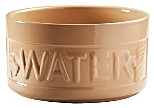 Mason Cash Cane Lettered Water Bowl, 1.8L, Brown 28488