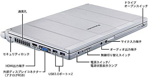 PANASONIC CF-SX4EDHCS Lets note SX4 [ノートパソコン 12.1
