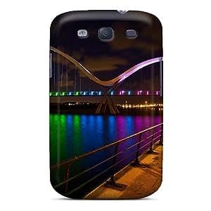 FXBuu1758dsyVB NikRun Reflection Durable Galaxy S3 Tpu Flexible Soft Case