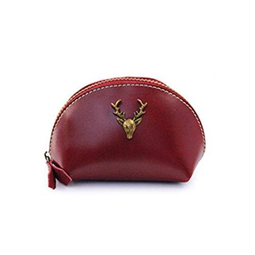 Tefamore Mode Womens Mini Lady Geldbörse Geldbeutel Null Geldbörse Handtasche Kupplung RD