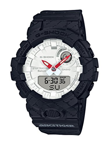 Casio Limited Edition G-Shock x Asics Tiger Connected Watch GBA-800AT-1A - Casio Large Shock G X Watch