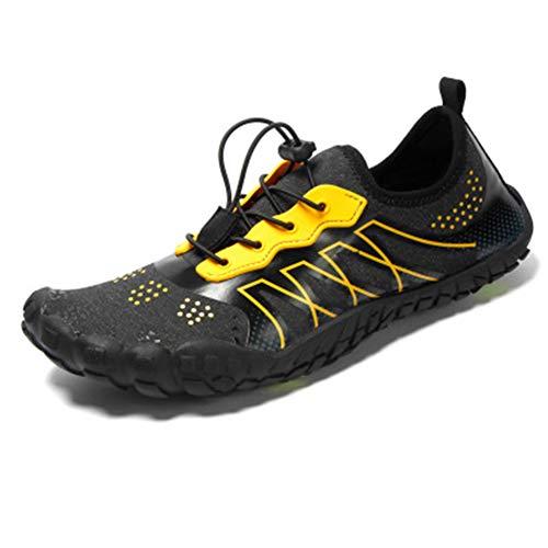 Deporte Wqing Informal Deportivas Para Malla De Gimnasio Yellow Zapatillas Hombre Fitness Deportes Er0qCwqxnF