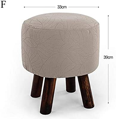 Phenomenal Amazon Com Carl Artbay Wooden Footstool Light Grey Small Ocoug Best Dining Table And Chair Ideas Images Ocougorg