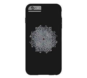 015 iphone 6 4.7 Black Tough Phone Case - Design By Humans