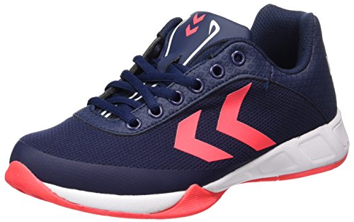 Adults' Multisport Shoes Indoor Peacoat Blue Hummel Root Unisex Play Tw7R5I