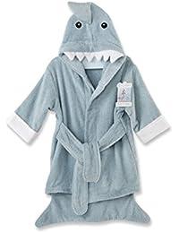 Let the Fun Begin Blue Shark Robe, Blue, 12-18 Months