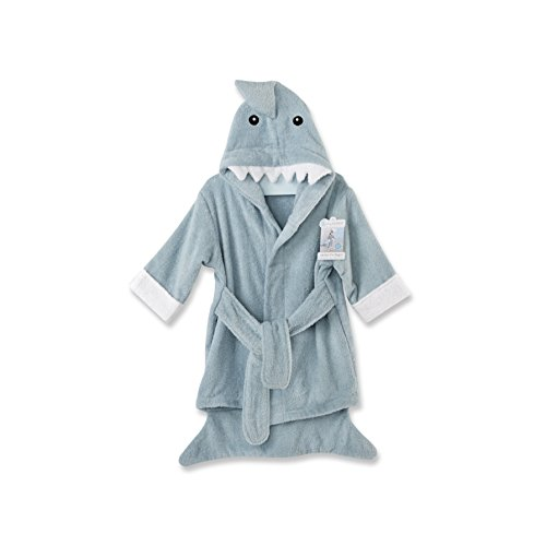 Baby Aspen Let the Fun Begin Blue Shark Robe, Blue, 12-18 Months -  BA14020BL