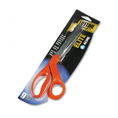 Acme United Scissors - Elite Series Stainless Steel Shears, 9in, 4in Cut, L/R Hand