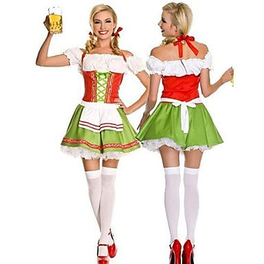 Green (Beer Maids Costume)