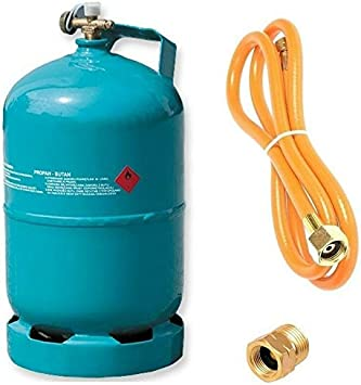 Botella de gas vacía rellenable, 5 kg/12,3 l, para camping ...