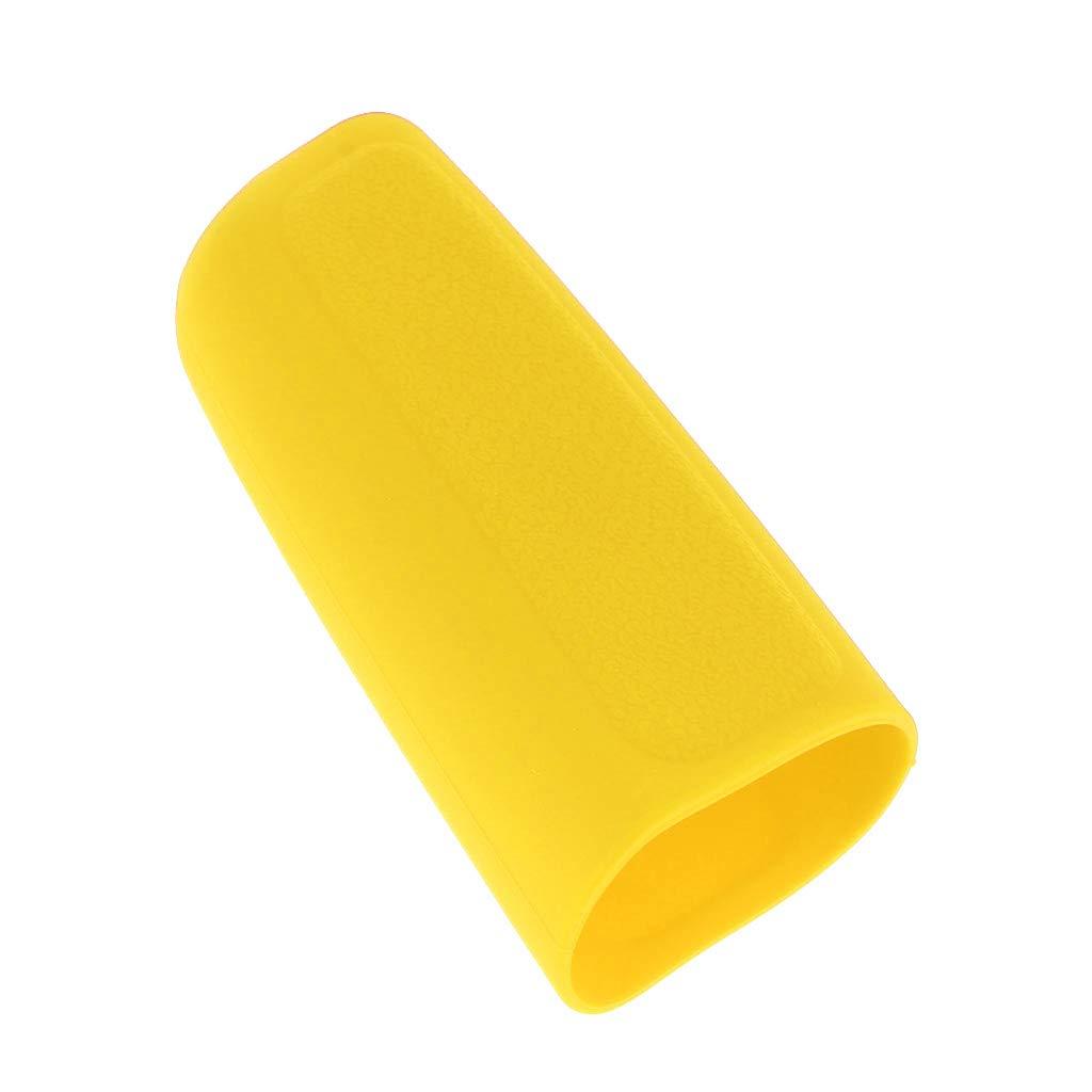 D DOLITY 2pc Schutzh/ülle Abdeckung Bezug f/ür Auto Schaltknauf Handbremse Gelb
