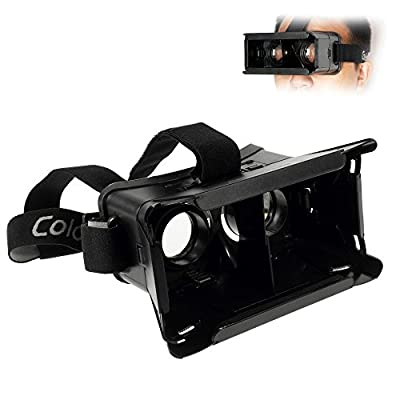 Google Cardboard Head Mount Plastic Version 3D VR Virtual Reality Video Glasses