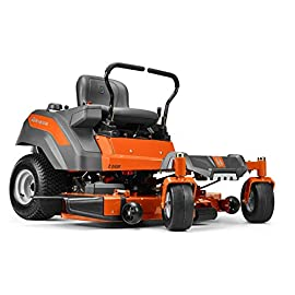 Husqvarna Z254F 54 in. 23 HP Kawasaki Zero Hydrostatic Turn Riding Mower 73 23 HP Kawasaki engine provides reliable startups and a max speed of 6.5 MPH Hydrostatic, no-maintenance transmission is worry free, empowering the mower to take on a variety of cutting conditions ClearCut deck offers a best-in-class 54 in. cut and better bagging thanks to its deep deck design, superior air flow and high-performance blades