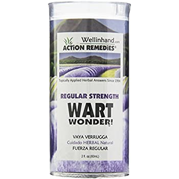 Wellinhand Action Remedies Wart Wonder, Regular Strength, 2 Ounce