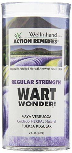 Wellinhand Action Remedies Wart Wonder, Regular Strength, 2