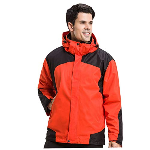 Uomo Da Giacca Orange Donna Gamma Huifang Alta Di Impermeabile Sci Men Escursionista Antivento Outdoor E dqtxE