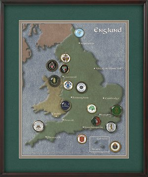 England Ball Marker Collection